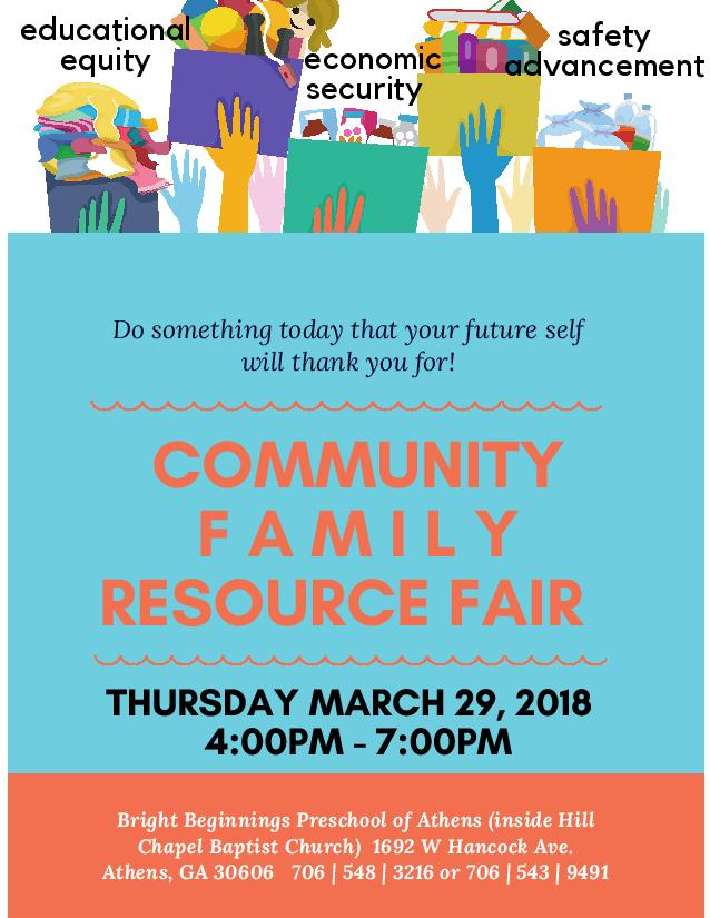 Free Community Family Resource Fair